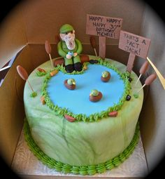 Duck Dynasty cake! LOVE THIS :D Could be a grooms cake.