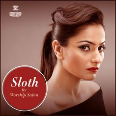 Unveiling of Sloth, by #WorshipSalon.   What do you think of this sleek signature hairstyle?