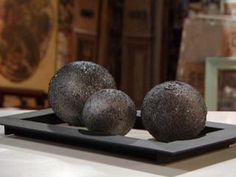 Manualidades y Artesanías | Esferas imitación piedra | Utilisima.com