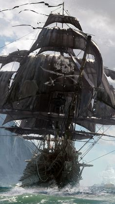 Video Game Skull and Bones Pirate Ship Mobile Wallpaper Pirate Games, Pirate Art, Pirate Ships, Pirate Crafts, Pirate Life, Free Android Wallpaper, Mobile Wallpaper, Phone Wallpapers, Pirate Ship Tattoos