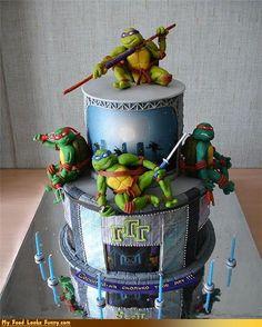 Teenage Birthday Ninja Turtles