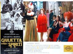 Rika Diallina Juliet of the Spirits (Italian: Giulietta degli spiriti) is a 1965 Italian-French fantasy comedy-drama film directed by Federico Fellini