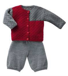 Bergere de France Cardigan & Pants Pattern