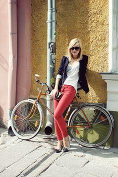 Y una bicicleta.