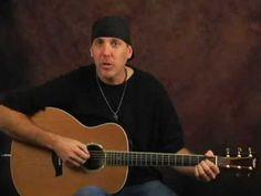 Beginner Acoustic guitar lesson strumming and rhythm magic