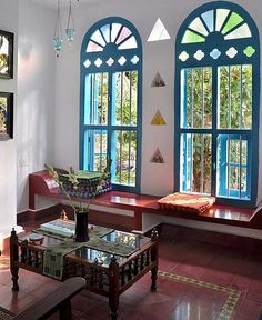 Home Decored Entryway Small House Tours 16 Ideas Indian Interior Design, Indian Home Design, Village House Design, Village Houses, Ethnic Home Decor, Indian Home Decor, Chettinad House, Indian Interiors, Indian Homes