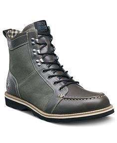 Stacy Adams Boots, Mainline Moc Toe Lace Up Boots - Mens Boots - Macy's