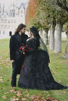 gothic wedding Bloodisnewblack