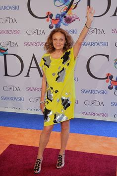 Diane von Furstenberg. These 12 stylish women are redefining the notion of age-appropriate dressing.