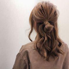 [HAIR] ryota kuwamura& hair style snap (ID: Headband Hairstyles, Messy Hairstyles, Pretty Hairstyles, Hairstyle Ideas, Bridal Hairstyles, Medium Hair Styles, Curly Hair Styles, Natural Hair Styles, Good Hair Day