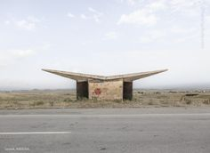 15 surreal bus stops from the Soviet era - @nforonym