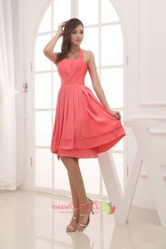 Coral Bridesmaid Dresses Under 100 2016 - http://misskansasus.com/coral-bridesmaid-dresses-under-100-2016/