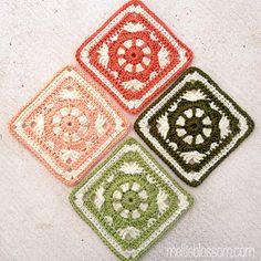 April Crochet-Along Squares