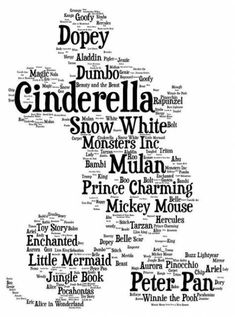 Image discovered by Disney Lover. Find images and videos about disney, disneyland and walt disney on We Heart It - the app to get lost in what you love. Disney Pixar, Deco Disney, Disney Trips, Disney Love, Disney Magic, Disney Mickey, Disney Characters, Disney Stuff, Disney Character Names
