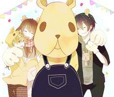 Yukine, Hiyori, and Yato