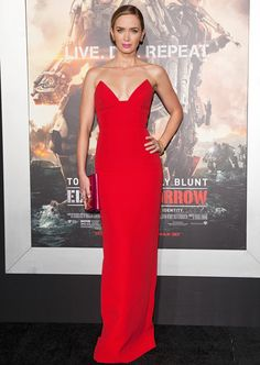21 of InStyle November Cover Star Emily Blunt's Favorite Things - Repeat one past red carpet look from InStyle.com