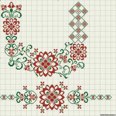 Gallery.ru / Фото #73 - схемы для вышиванок - zhivushaya