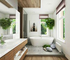 bañadera en blanco