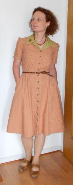 MeMadeMay15 - Day 11  Dress: Butterick 5846 #mmmay15