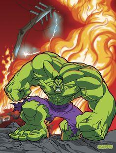 #Hulk #Fan #Art. (Hulk Am Mad) By: Jackademus. [THANK U 4 PINNING!!]