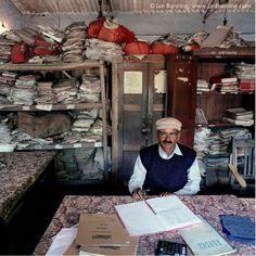 "Jan Banning - ""Bureaucratics"" - India, Bihar, 2003."