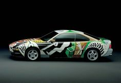 Desktop wallpapers and high-resolution images of the BMW 850 CSi Coupe Art Car by David Hockney David Hockney Art, Diesel, Car Part Art, Art Deco Car, Truck Art, Car Illustration, Car Posters, Pinstriping, Automotive Art