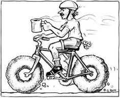 I need a coffee cup holder for my bike ;-)
