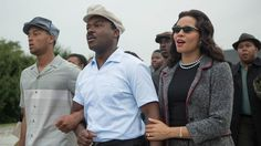 David Oyelowo as Martin Luther King, Jr. and Carmen Ejogo as Coretta Scott King in the new movie Selma.