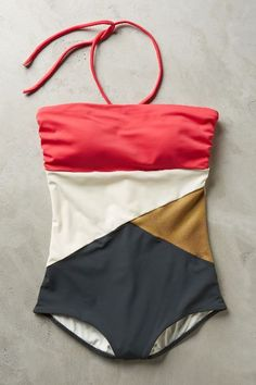 Touche Split-Tone Maillot - anthropologie.com
