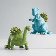 $39.95 - Dino planter.  Great for a kids room to start teaching caring for plants, etc.