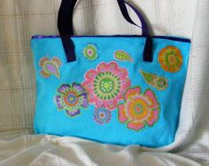 <<#totebag #colorful #bright #zippedclosure #largeinsidepockets #waterproof #shoppingtote http://www.zibbet.com/masbags