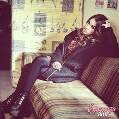 Esperanza Solidaria #EsperanzaMia Mariano Martinez, Fashion Tv, Leather Pants, Punk, Outfits, Style, Shoes, Shopping, Outfit