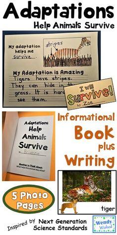 animal adaptation narrative writing piece