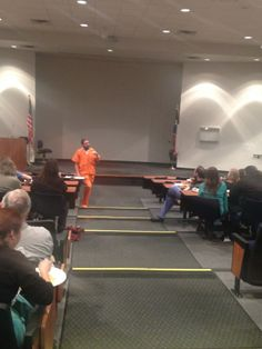 Kent McKeever, Class of 2004, shares why he is wearing a prisoner jumpsuit during Lent.