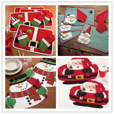 Christmas Placemats Table Mat