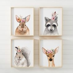 Nursery Print Set Woodland Print Set Woodland Nursery Woodland Print Set Woodland Nursery Print Set Woodland Wall Art Print Set Nursery Prints PRINTING & PAPER Giclee Print Printed on 240-gram archival matt art paper. Printed with archival quality prints with a 100 year warranty from