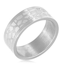 $4.99 - Stainless Steel Men's Ring Leopard Design
