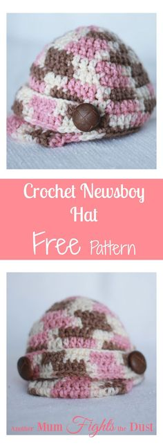 71 Best Crochet Newsboy Visor Hat Patterns Images