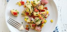 Looking for a potato salad reci[e? We all loved this salad and how different it was from other summer potato salads.