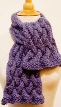 cable tutorial and free pattern