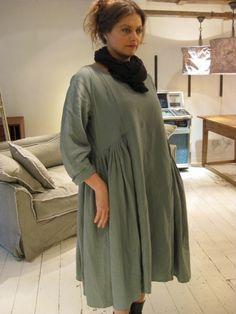Privatsachen Straffende Linen Viscose Dress