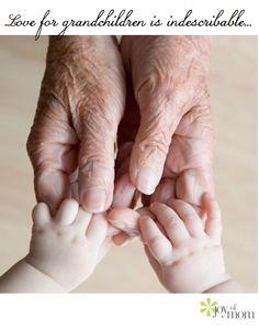 Love for grandchildren and great grandchildren  is indescribable... Praise God!