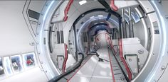 Breakdown of SciFi Cylinder tunnel. - Polycount Forum