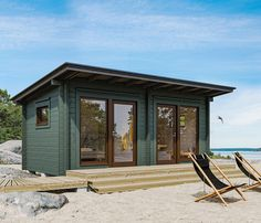 Outdoor Sauna, Instagram Story, Instagram Posts, Tiny House, Gazebo, Shed, Outdoor Structures, House Styles, Cabins