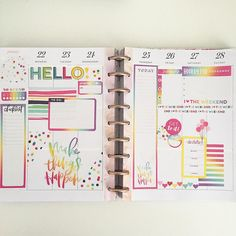 Bill Planner, Planner Tips, Planner Layout, Planner Pages, Planner Doodles, Mini Happy Planner, Planner Decorating, Notebooks, Journals