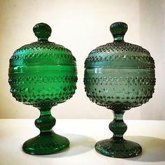 Znalezione obrazy dla zapytania ząbkowice kaszmir Shades Of Green, Sculptures, Old Things, Art Deco, Ceramics, Wall Art, Glass, Beautiful, Vintage