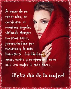The perfect Feliz Dia Mujer Animated GIF for your conversation. Happy Woman Day, Happy Day, Cute Minions, Ladies Day, Poems, Positivity, Sayings, My Love, Quotes