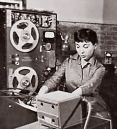 The First Electronic Filmscore-Forbidden Planet: A Conversation with Bebe Barron  by Jane Brockman