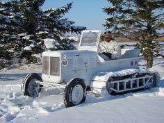 Allis-Chalmers Snow Tractor - WW II