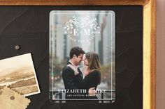 """""""Floral Simplicity"""" - Floral & Botanical, Full-Bleed Photo Save The Date…"""